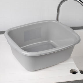 Beldray COMBO-4239 10L Washing Up Bowl, Storage Caddy and Cutlery Drainer, Grey Thumbnail 6