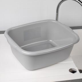 Beldray COMBO-4242 Rectangular Washing Up Bowl, 10 Litre, Grey, Set of 2 Thumbnail 2