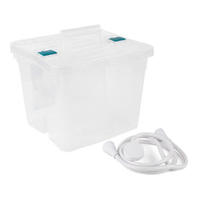 Beldray COMBO-4228 Push-On 150 cm Caravan and Pet Shower Mixer Set with Large Storage Caddy, White / Clear Thumbnail 1