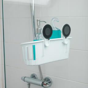 Beldray COMBO-4231 Push-On 150 cm Caravan and Pet Shower Mixer Set with Suction Bathroom Basket Thumbnail 5
