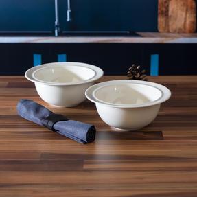 Alessi COMBO-3347 La Bella Tavola Porcelain Cereal, Soup, Dessert Bowls, 16 cm, Set of 12 Thumbnail 2