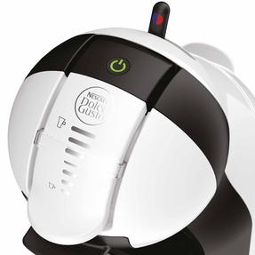 De?Longhi COMBO-4130 Nescafe Dolce Gusto Mini Me Coffee Machine with Icona Four-Slice Toaster, White / Onyx Black Thumbnail 9