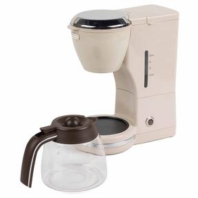 De?Longhi COMBO-4136 Icona Vintage Drip Coffee Machine with Argento Four Slice Toaster, Beige / Cream Thumbnail 7