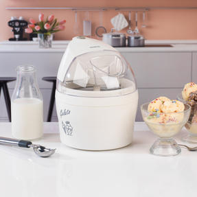 Kenwood COMBO-4131 kCook Food Processor and Electric Ice Cream Maker Kitchen Gadget Set, White / Grey Thumbnail 5