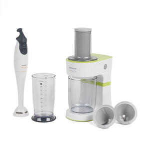 Kenwood COMBO-4133 Electric Dual-Speed Hand Immersion Blender with Fruit and Vegetable Spiralizer Kitchen Gadget Set Thumbnail 1