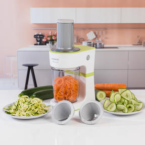 Kenwood COMBO-4133 Electric Dual-Speed Hand Immersion Blender with Fruit and Vegetable Spiralizer Kitchen Gadget Set Thumbnail 5