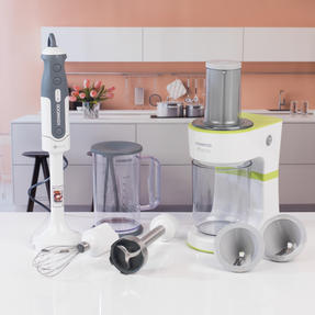 Kenwood COMBO-4134 Tri-Blade Hand Blender and Electric Fruit and Vegetable Spiralizer Kitchen Gadget Set Thumbnail 2