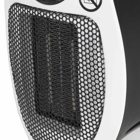 Beldray EH30012STK Compact Plug-in Heater, 450W, White Thumbnail 6