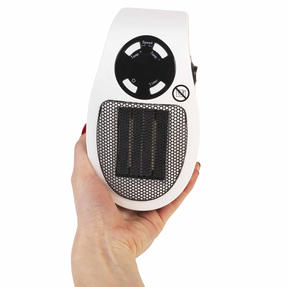 Beldray EH30012STK Compact Plug-in Heater, 450W, White Thumbnail 9