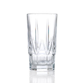 RCR 26233020006 Chic Luxion Crystal Hi-Ball Tumbler Glasses, 520 ml, Set of 6 Thumbnail 3
