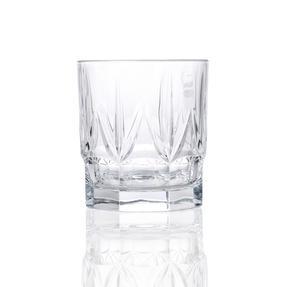 RCR 26234020006 Chic Luxion Crystal Short Tumbler Glasses, 430 ml, Set of 6 Thumbnail 3