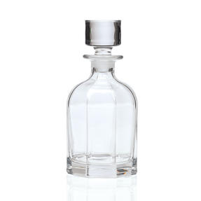RCR 51555020006 Chic Rounded Luxion Crystal Whisky Decanter, 800 ml Thumbnail 2