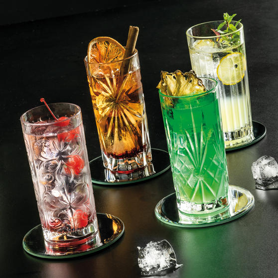 RCR 26984020006 Mixology Luxion Crystal Hi-Ball Tumblers, Set of 4