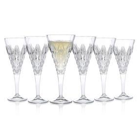 RCR 25759020006 Enigma Luxion Crystal White Wine Glasses, 270 ml, Set of 6 Thumbnail 3