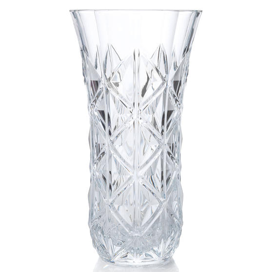 RCR 26251020206 Enigma Luxion Crystal Decorative Flower Vase, 30 cm