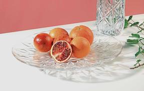 RCR 26252020006 Enigma Luxion Crystal Decorative Centrepiece Bowl, 33 cm Thumbnail 4