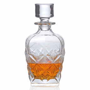 RCR 51529020006 Enigma Luxion Crystal Whisky Decanter, 860 ml Thumbnail 1