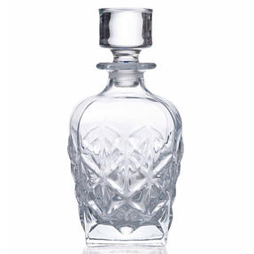 RCR 51529020006 Enigma Luxion Crystal Whisky Decanter, 860 ml Thumbnail 2