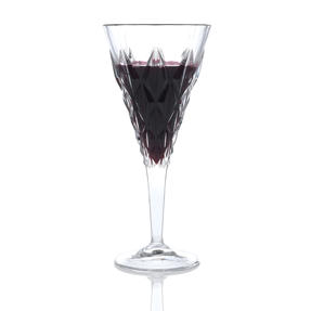 RCR 25760020006 Enigma Luxion Crystal Red Wine Glasses, 360 ml, Set of 6
