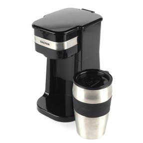 Salter COMBO-4461 Coffee Maker to Go Personal Filter Coffee Machine with Electric Grinder and Milk Frother Thumbnail 3