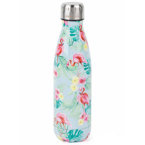 Cambridge COMBO-4145 Flamingo Jungle Thermal Insulated Flask Bottle, 500 ml, Stainless Steel, Set of 2 Thumbnail 2