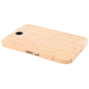 Sambonet 1304716 Bamboo Dual-Use Chopping Board with Hanging Hook, 36 cm x 24 cm Thumbnail 1