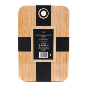 Sambonet 1304716 Bamboo Dual-Use Chopping Board with Hanging Hook, 36 cm x 24 cm Thumbnail 9