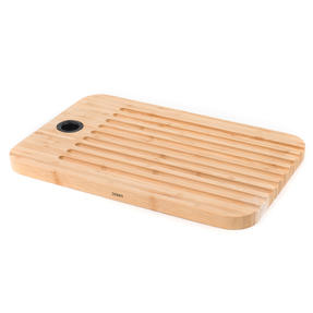 Sambonet 1304716 Bamboo Dual-Use Chopping Board with Hanging Hook, 36 cm x 24 cm Thumbnail 2