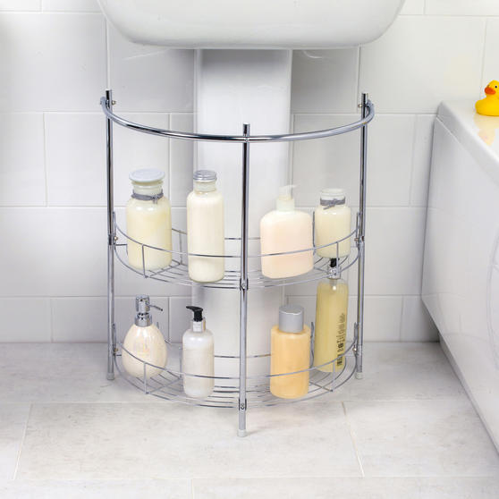 Beldray COMBO-3685 Under Sink Storage Unit & 2-Tier Corner ...