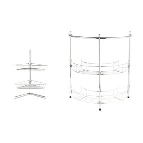 Beldray COMBO-3685 Under Sink Storage Unit & 2-Tier Corner Caddy, Chrome Plated Thumbnail 1