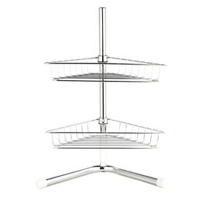 Beldray COMBO-3685 Under Sink Storage Unit & 2-Tier Corner Caddy, Chrome Plated Thumbnail 6