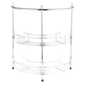 Beldray COMBO-3685 Under Sink Storage Unit & 2-Tier Corner Caddy, Chrome Plated Thumbnail 7