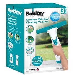 Beldray BEL0749N Cordless Rechargeable Window Vacuum Cleaner, 60 ml, 10 W Thumbnail 6