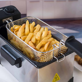 Progress EK2053P Large Deep Fat Fryer With Removable Cooking Basket, 3 L, 2200 W Thumbnail 5