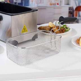 Progress EK2053P Large Deep Fat Fryer With Removable Cooking Basket, 3 L, 2200 W Thumbnail 8