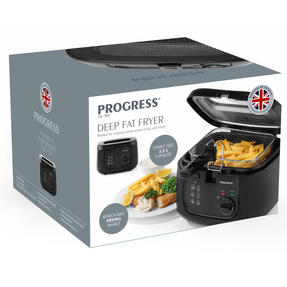 Progress EK2717P Deep Fat Fryer, 2.5 Litre, 1800 W, Black Thumbnail 12