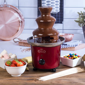 Giles & Posner COMBO-4544 Popcorn Maker and Chocolate Fountain Party Gadget Set Thumbnail 3