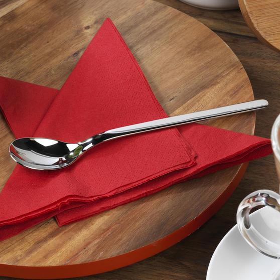 Bellevue COMBO-4518 Eight-Piece Latte Spoon Set, Stainless Steel