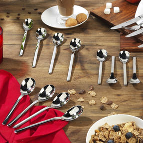 Bellevue COMBO-4443 Dining Cutlery Latte Spoons, Ice Cream Spoons and Cereal Spoons, 12 Piece Thumbnail 2