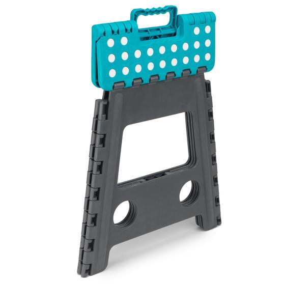 Beldray DIY Hobby Foldable Step Stool, Large, Plastic, Turquoise Thumbnail 3