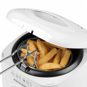 Progress EK2969P Compact Deep Fat Fryer With Removable Cooking Basket, 1 L, 950 W Thumbnail 2