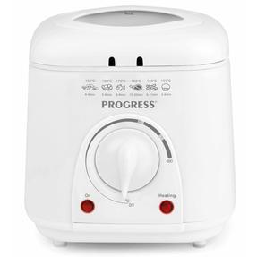 Progress EK2969P Compact Deep Fat Fryer With Removable Cooking Basket, 1 L, 950 W Thumbnail 3