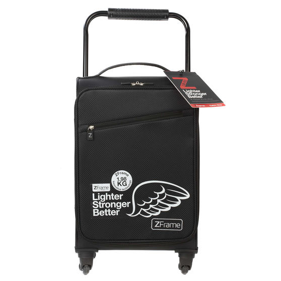 Zframe SH222837BLK26SAMIL Super Lightweight Suitcase, 26?, 10 Year Warranty, Black