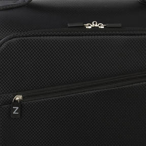 Zframe SH222837BLK26SAMIL Super Lightweight Suitcase, 26?, 10 Year Warranty, Black Thumbnail 3