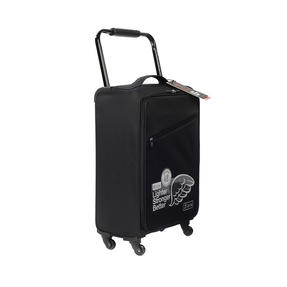 Zframe SH222837BLK26SAMIL Super Lightweight Suitcase, 26?, 10 Year Warranty, Black Thumbnail 2