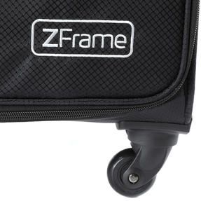 Zframe SH222837BLK22SAMIL Super Lightweight Suitcase, 22?, 10 Year Warranty, Black Thumbnail 8