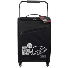 Zframe SH222837BLK22SAMIL Super Lightweight Suitcase, 22?, 10 Year Warranty, Black Thumbnail 2