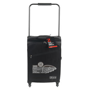 Zframe SH222837BLK22SAMIL Super Lightweight Suitcase, 22?, 10 Year Warranty, Black Thumbnail 3
