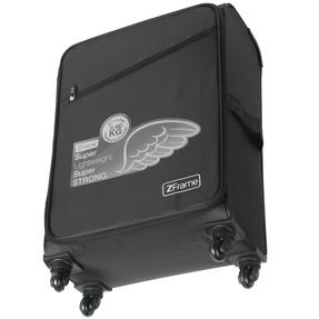 Zframe SH222837BLK22SAMIL Super Lightweight Suitcase, 22?, 10 Year Warranty, Black Thumbnail 4