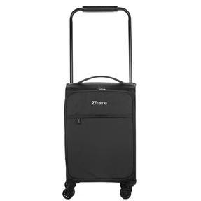 "ZFrame 18"" Small 4 Double Wheel Super Lightweight Cabin Suitcase, 1.98 kg, 30 Litre, Black, 10 Year Warranty Thumbnail 2"